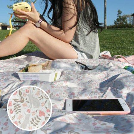 러블리래빗 피크닉매트 S 100 x 70cm:피크닉매트+파우치