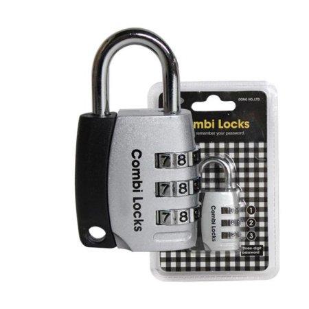 3500 비밀번호 자물쇠(블랙)