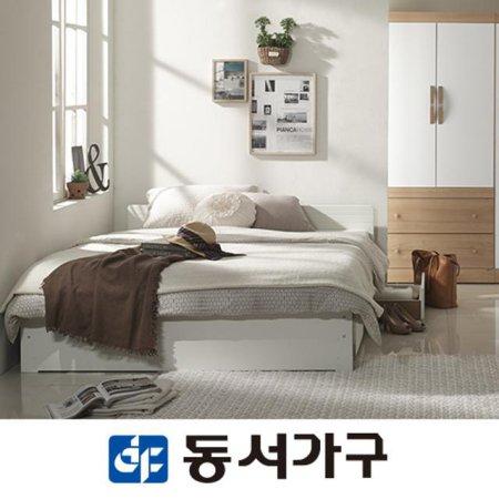 조이단독스퀘어 D수납침대 DF631039 _화이트