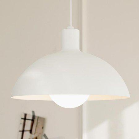 [LED] 투투1등 펜던트-2color 블랙:전구색(노란빛)