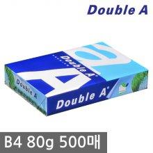 더블에이 B4 복사용지(B4용지) 80g 500매 1권
