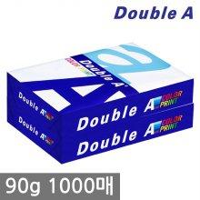 더블에이 A4 복사용지(A4용지) 90g 1000매(500매 2권)
