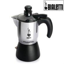 모카 크레마 에스프레소 커피메이커 3컵(블랙)+세척용커피 증정