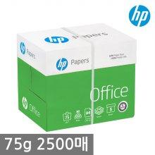HP A4 복사용지(A4용지) 75g 2500매 1BOX