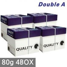 퀄리티 복사용지 A4 80g 4BOX