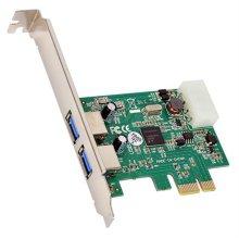 NEXT 212U3 USB3.0 2포트 PCI Express 카드 LP타입