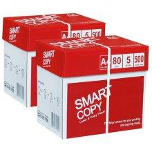 스마트카피 A4 복사용지(A4용지) 80g 2500매 2BOX(5000매)