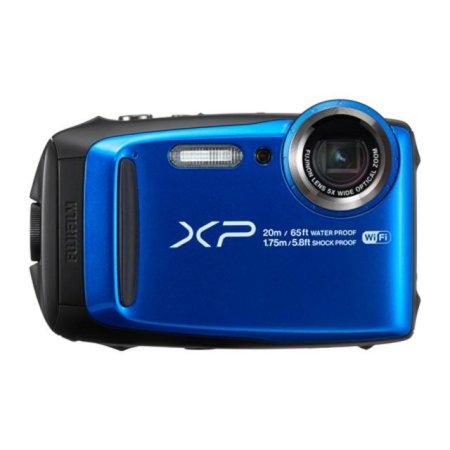 파인픽스 방수카메라 XP120 [ WiFi 버전 / 블루 / 1640만화소 ]