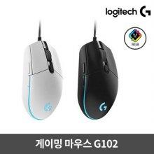 [비밀쿠폰][로지텍정품] 게이밍마우스 G102 [유선] [화이트/블랙] [ 로지텍코리아정품 ]