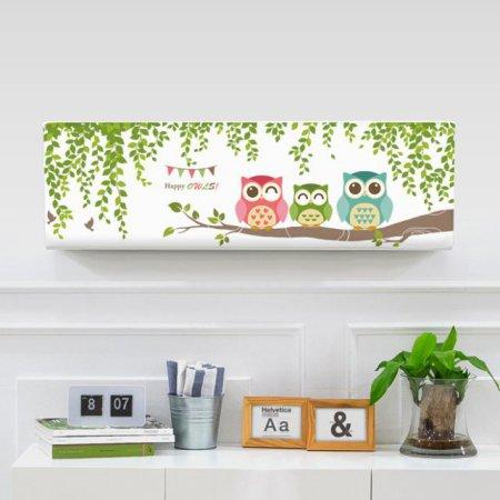 벽걸이에어컨커버 행복부엉이 트라이앵글(106x30x30)