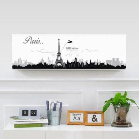 벽걸이에어컨커버 에펠탑 트라이앵글(82x26x27.5)