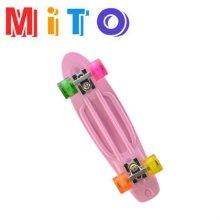 스케이트보드 (56cm) 핑크