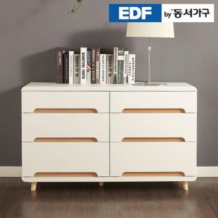 EDFby동서가구 유로밍 모던 와이드 3단서랍장 DFF2971A _오크