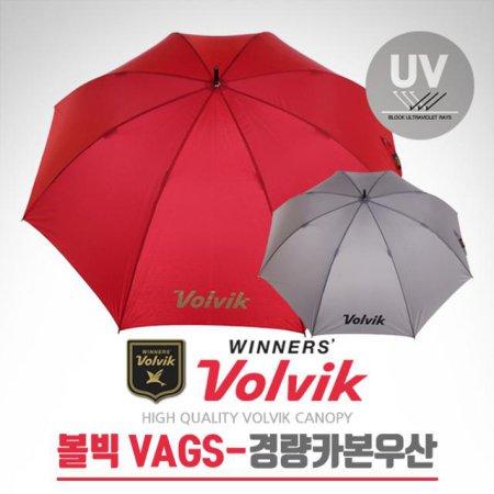 2017년신제품 VAGS 75cm UV 자외선차단 골프 초경량 카본우산 (VAGSUM08) 와인