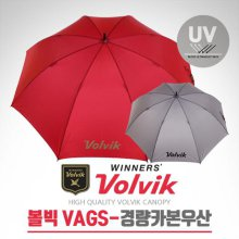 VAGS 75cm UV 자외선차단 골프 초경량 카본우산(VAGSUM08) 그레이