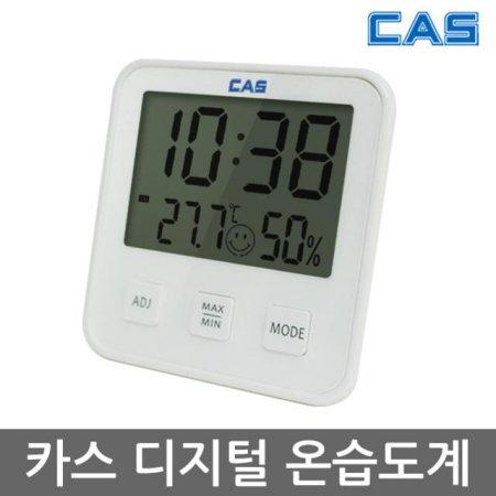 디지털 온습도계 화이트 T019 _시계/알람/온도계/습도계 기능