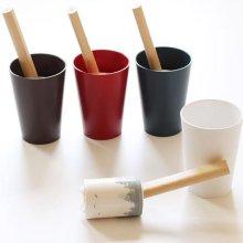 티디 디자인 컵 롤클리너 와인레드