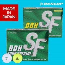 JAPAN NEW DDH SF 골프볼 [화이트/옐로우]12구 [화이트]