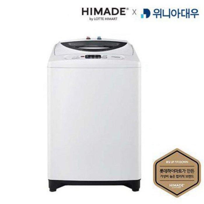하이메이드 일반세탁기 HDP-11ECW 대우전자X하이메이드 [11KG / 강력스타드럼 / 초강력입체물살 / 저소음저진동 / 공간절약형] [하이마트]