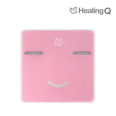 스마일 캐릭터 체지방 체중계 HQ-S2000 핑크 [블루투스/APP/데이터분석]