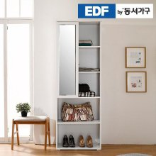EDFby동서가구 화이트케이 드레스룸 거울 선반장 DF636440 _화이트