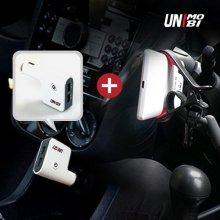 차량용 스마트폰 클립홀더+차량용 스마트 멀티충전기