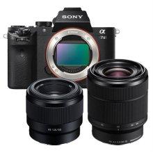 풀프레임 미러리스 카메라 ILCE-A7M2K [ 본체+28-70mm+50mm / 블랙 ]