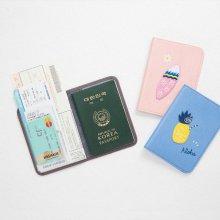 안테나샵 TROPICAL PASSPORT CASE [여권케이스/여권커버] Surfboard