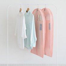 UIT 유니크 옷커버2p 수트 [부직포커버/수트커버/옷장정리/행거커버] Indi Pink