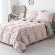 구스 차렵이불 단품 퀸Q (3colors) 핑크