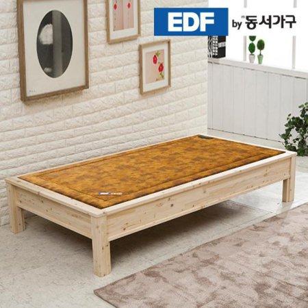 EDFby동서가구 황토볼 편백나무 싱글 흙평상 B타입 DFF366AG _내추럴