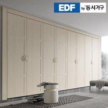 EDFby동서가구 시스템에밀 내추럴 여닫이 붙박이장 10cm DF636578 _내추럴우드 웜베이지