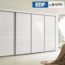 EDFby동서가구 시스템화이트펄 슬라이딩 붙박이장 30cm DF636572 _화이트 웜베이지