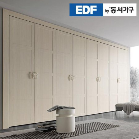 EDFby동서가구 시스템에밀 내추럴 여닫이 붙박이장 30cm DF636568