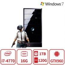 배틀그라운드 4세대 코어i7 게이밍 데스크탑 T3A시리즈 듀얼스토리지 [16G/SSD120G+HDD1TB/GTX960]