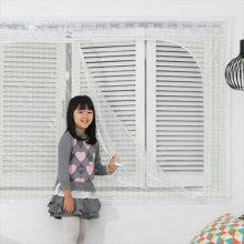 다샵 창문형지퍼식 방풍 바람막이 에어캡 300x165cm
