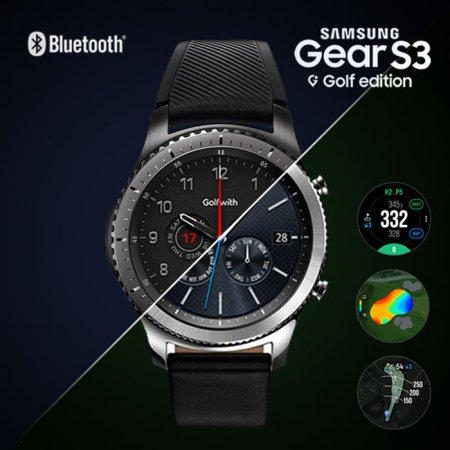 Golfwith X Gear S3 삼성전자 기어 S3 블루투스 골프에디션 골프거리측정기 S3_프론티어