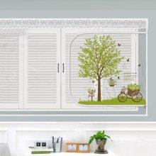 다샵 EVA창문형지퍼식 방풍 바람막이 초록향기 150x120cm