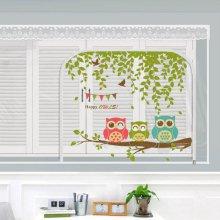 다샵 EVA창문형지퍼식 방풍 바람막이 행복부엉이 300x165cm