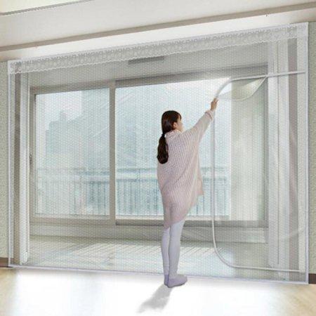 다샵 베란다형지퍼식 방풍 바람막이 에어캡 450x250cm