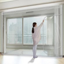 다샵 베란다형지퍼식 방풍 바람막이 에어캡 350x190cm