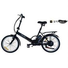 e-Run Bike 이런바이크 20 접이식 전동, 전기자전거 17년형_블랙