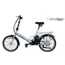 e-Run Bike 이런바이크 20인치 접이식 전동, 전기자전거 17년형_화이트