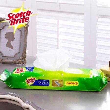 스위퍼(대형) 정전기 청소포-2 (60매) /거실 주방 욕실 청소 걸레