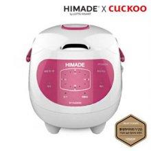 쿠쿠x하이메이드 마이콤 3인용 전기보온밥솥 CR-0385HM [4중 안전장치 / 이상점검 표시기능 / 3가지 요리방식]