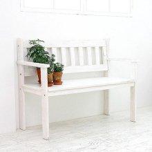 뉴송고무나무 W110등벤치(white)