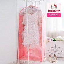 헬로키티 밀크 투명창 옷커버 점보