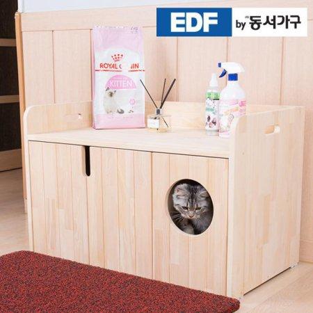 EDFby동서가구 펫츠펀 소나무원목 와이드형 화장실 DF636815 _내추럴