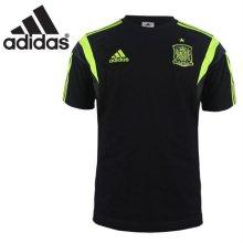 [QR코드인증]아디다스 남성 FEF TEE/스페인 대표팀 반팔 티셔츠-D83131