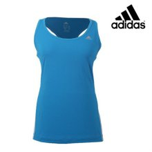 [QR코드인증]아디다스 여성 CLIMA 3SESS TAN 기능성 민소매 티셔츠 - D89735 XS